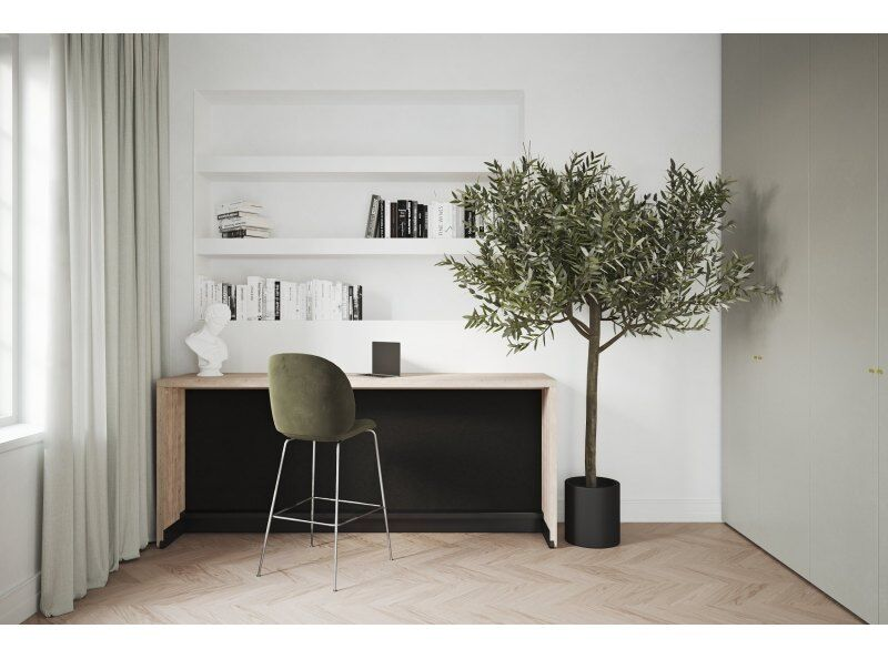 Fusion Desk Transforming to Single Bed, Oak