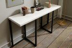 Flap Transforming Console - Dining Table 150 cm  / 9 Preview
