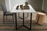 Flap Transforming Console - Dining Table 150 cm  / 6 Preview