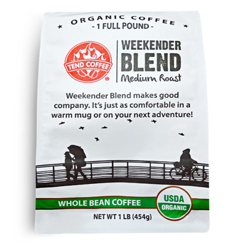 Weekender Blend, Certified Organic, 16oz