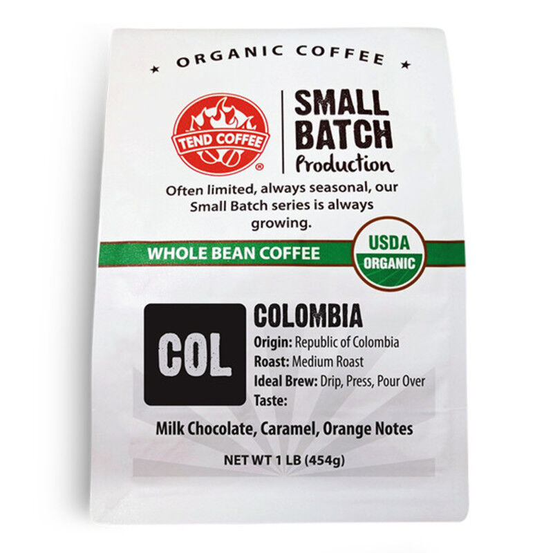 Colombia, Certified Organic, 16oz
