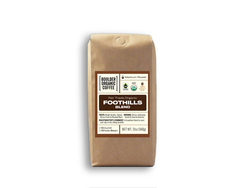 Foothills Blend, Fair Trade & Organic
