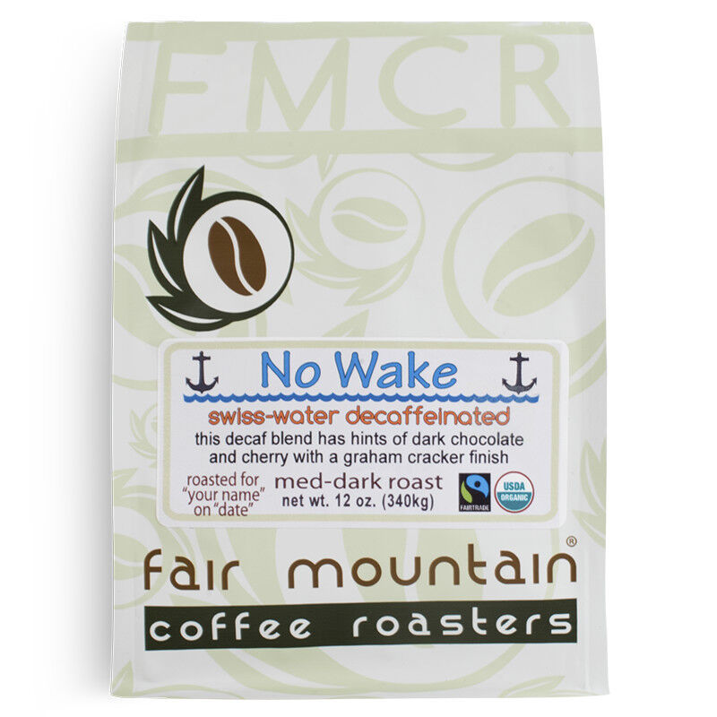 Organic FT No Wake Blend - 100% Swiss-Water Decaf