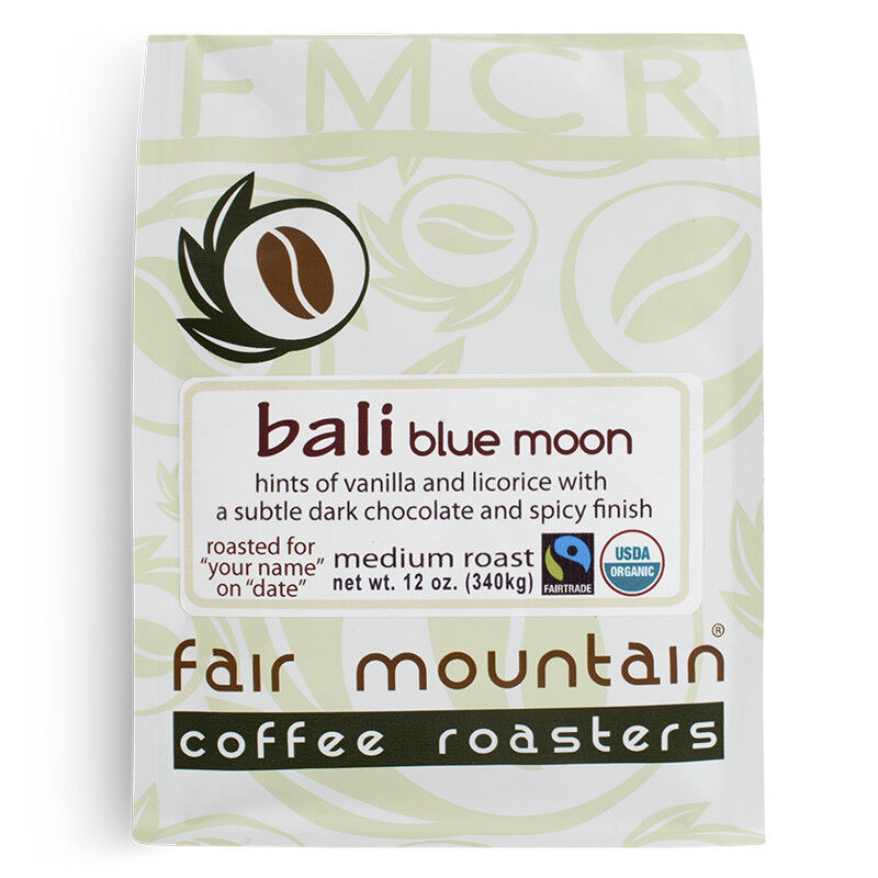 Organic Bali Blue Moon