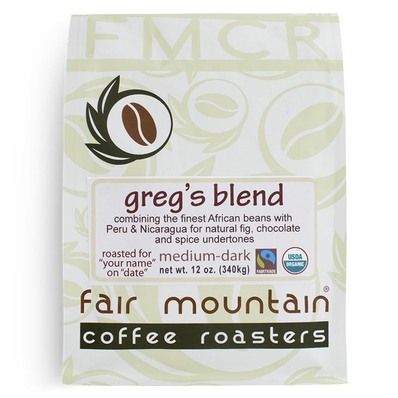 Organic FT Greg's Blend