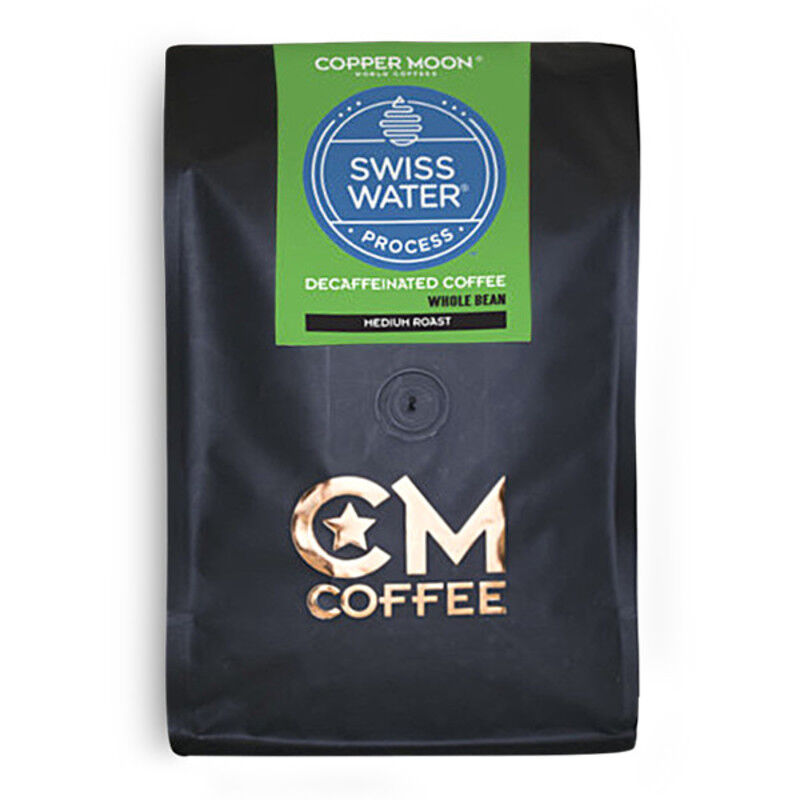 Copper Moon Coffee Swiss Water Decf 2lb Whole Bean