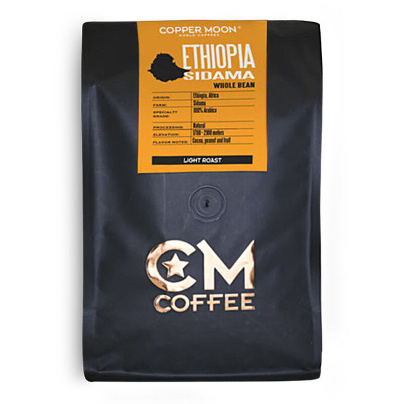 Copper Moon Coffee Ethiopia Sidama 2lb. Whole Bean