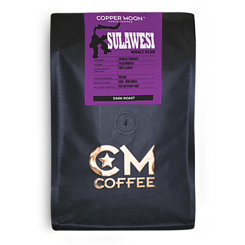 Copper Moon Coffee Sulawesi 2 lb. Whole Bean