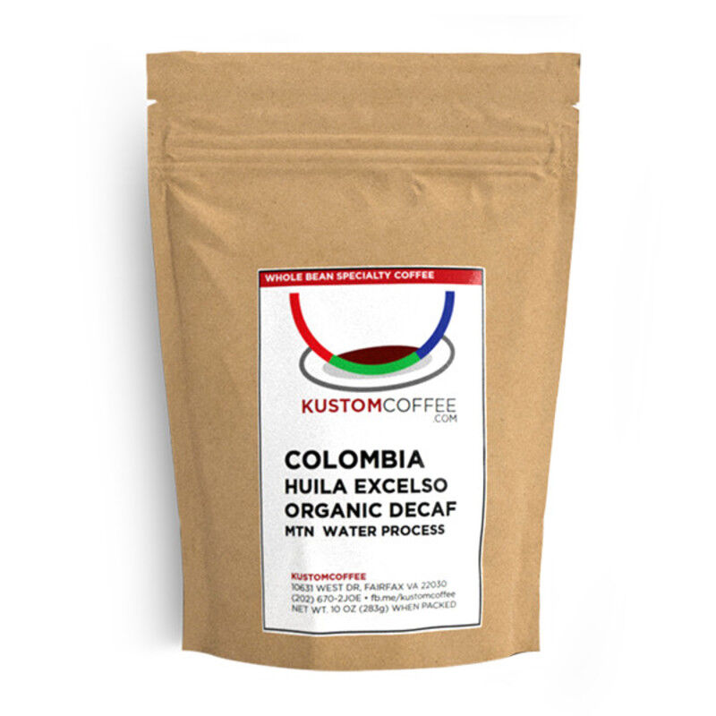 Colombia Huila Excelso Organic Decaf MWP