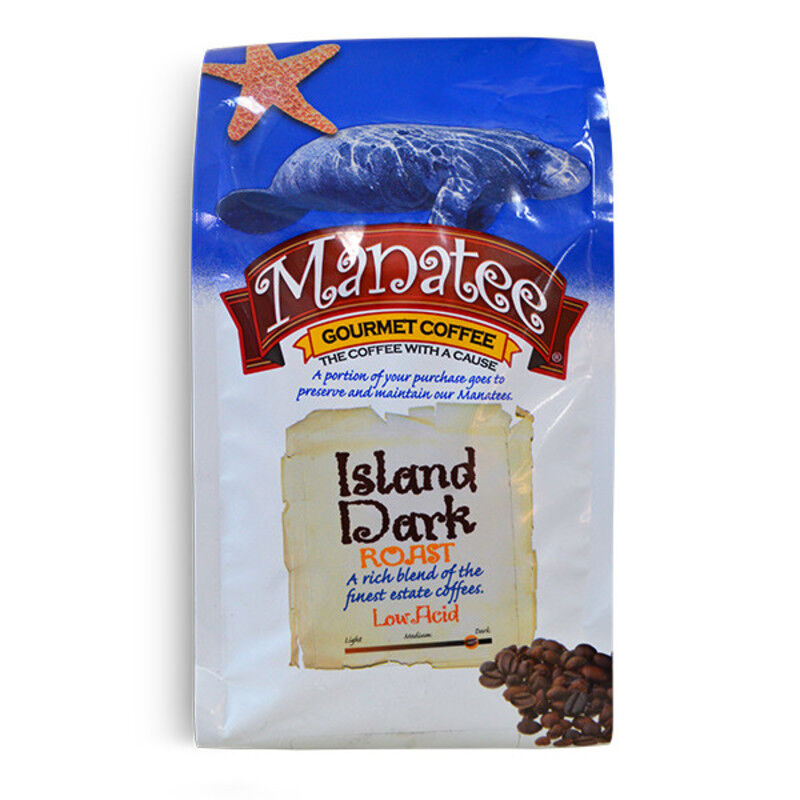 Manatee Island Dark Roast 32 oz. Whole Bean