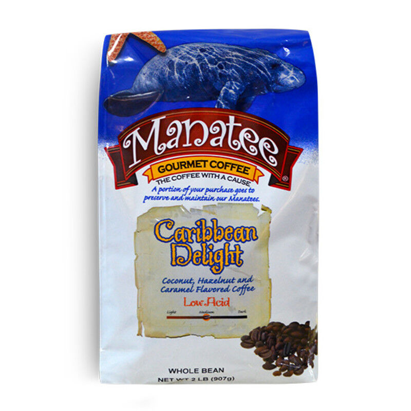 Manatee Caribbean Delight 32 oz. Whole Bean