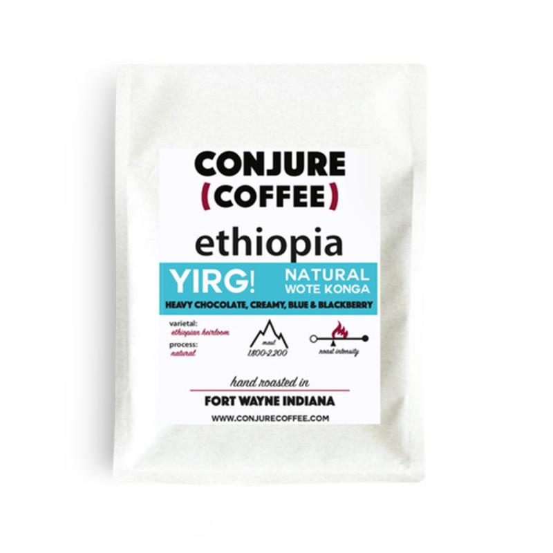 Ethiopia Yirgacheffe Wote Konga ~ Natural Process