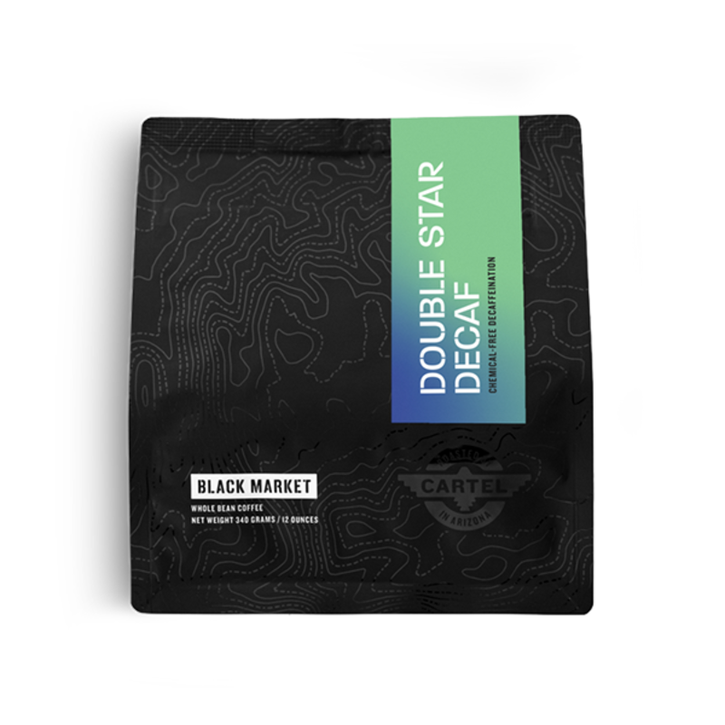 Black Market Double Star Decaf