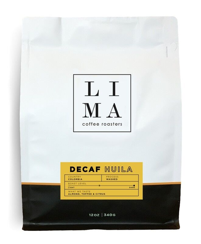 DECAF HUILA, COLOMBIA