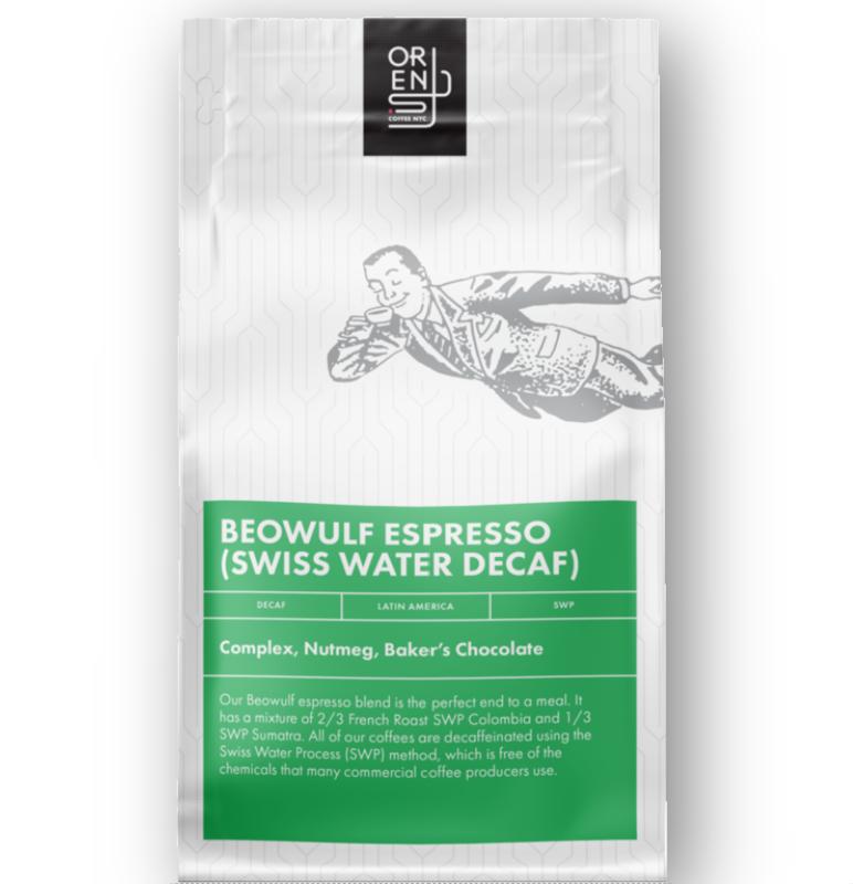 Beowulf Espresso SWP Decaf