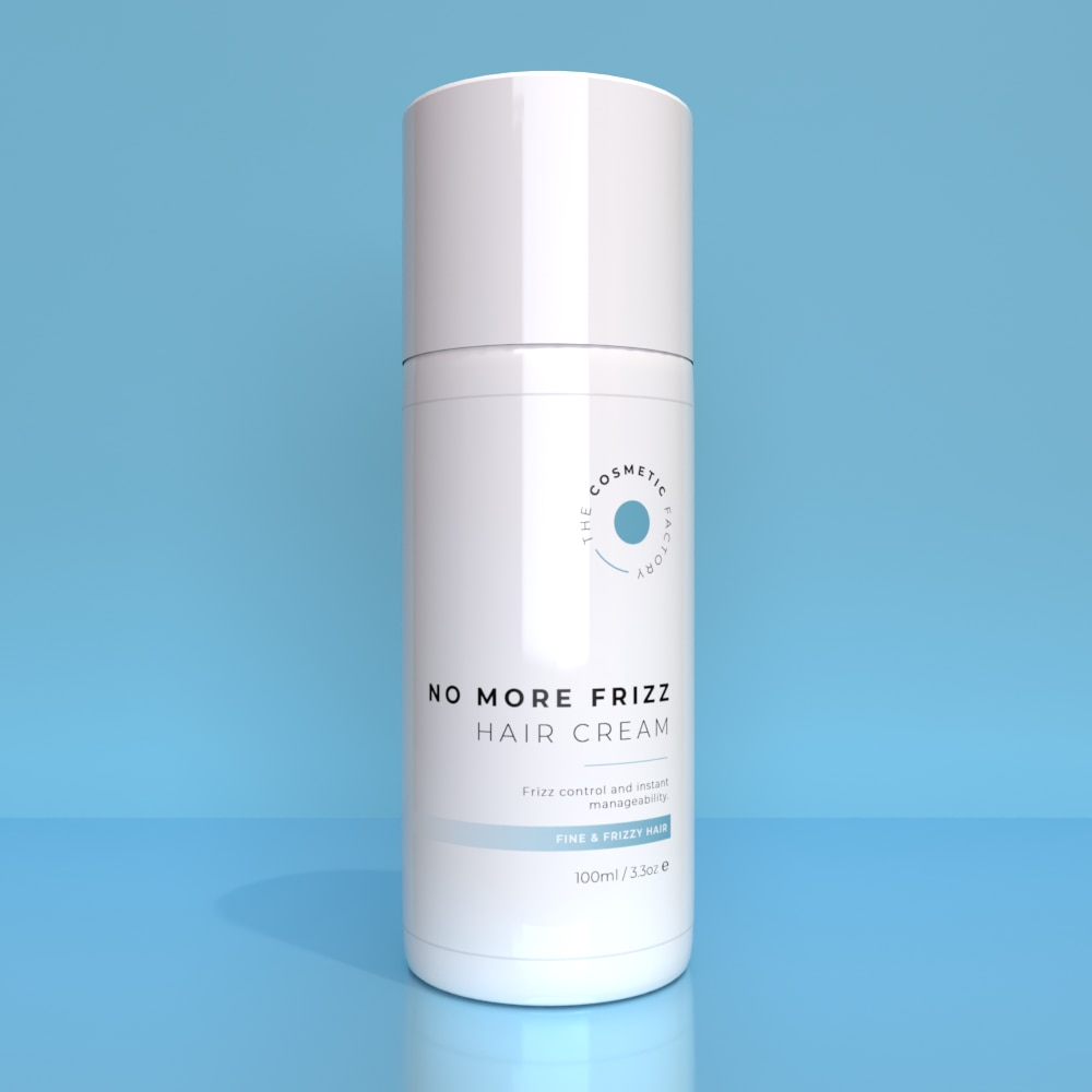 NO MORE FRIZZ HAIR CREAM - Frizz control and instant manageability