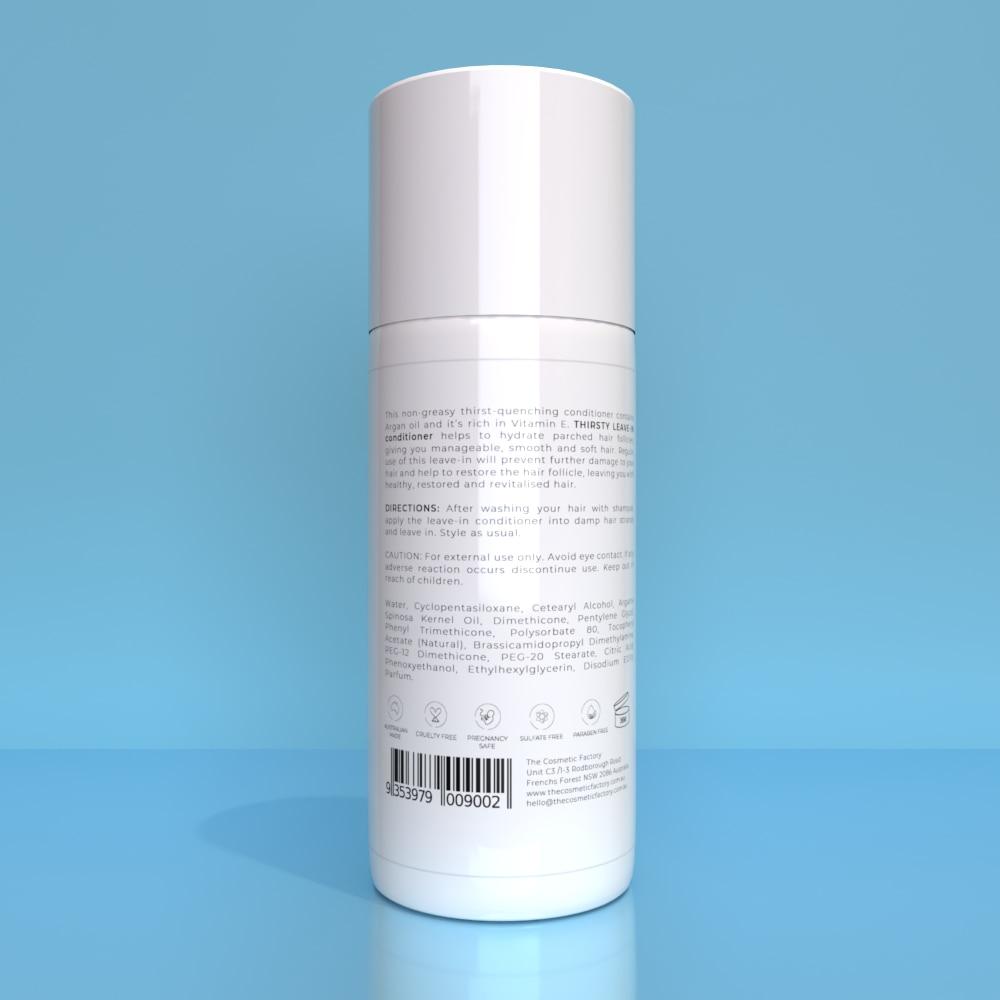 THIRSTY LEAVE-IN CONDITIONER - Instant moisturiser and detangler