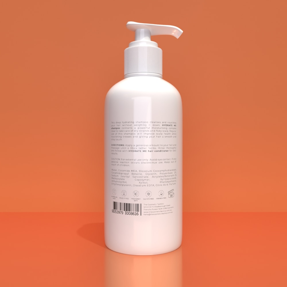HYDRATE ME SHAMPOO - Deeply hydrates and nourishes dry strands