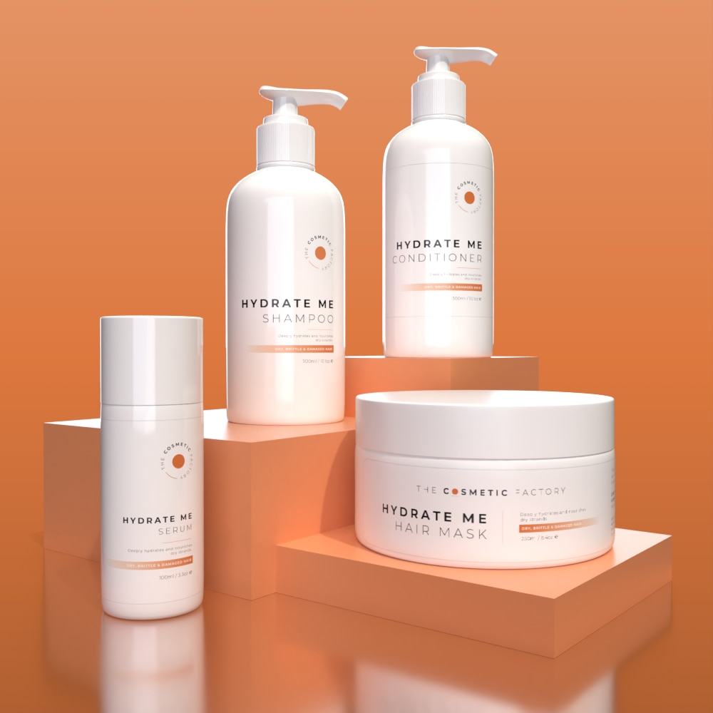 HYDRATE ME RANGE - Deeply hydrates and nourishes dry strands