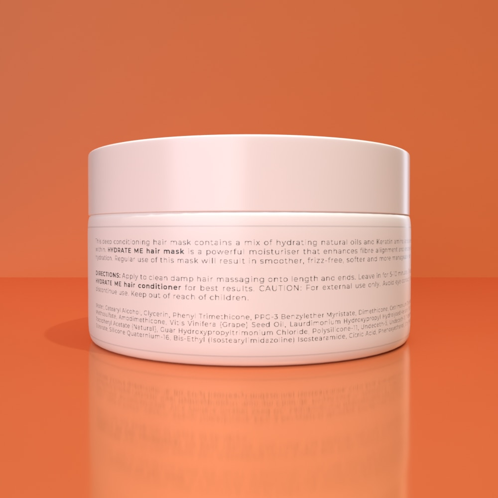 HYDRATE ME HAIR MASK - Deeply hydrates and nourishes dry strands