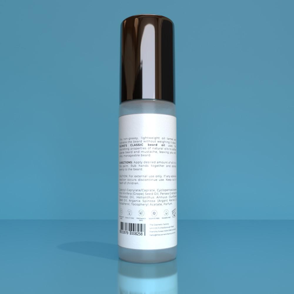 BLOKES CLASSIC BEARD OIL - Keeps the beard soft, shiny and smooth