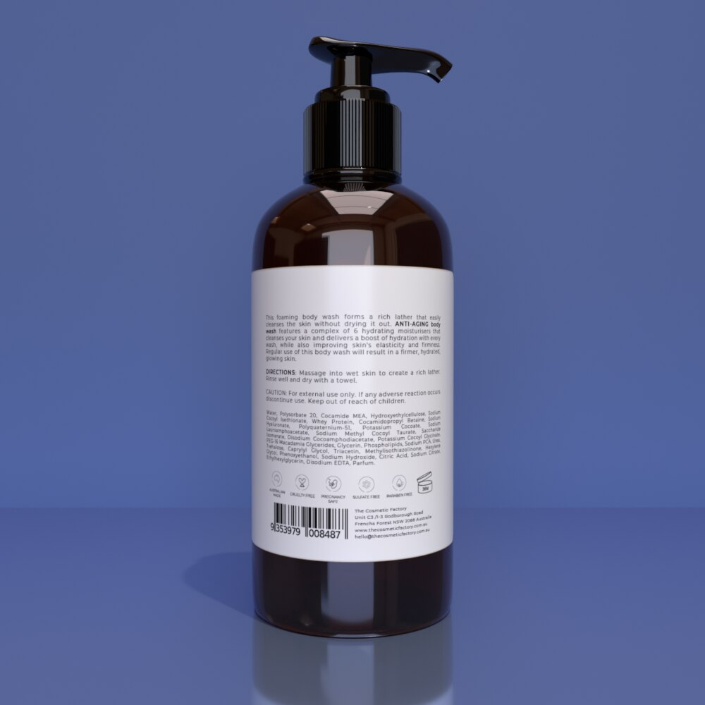 ANTI-AGING BODY WASH - Cleanses and removes skin-aging impurities