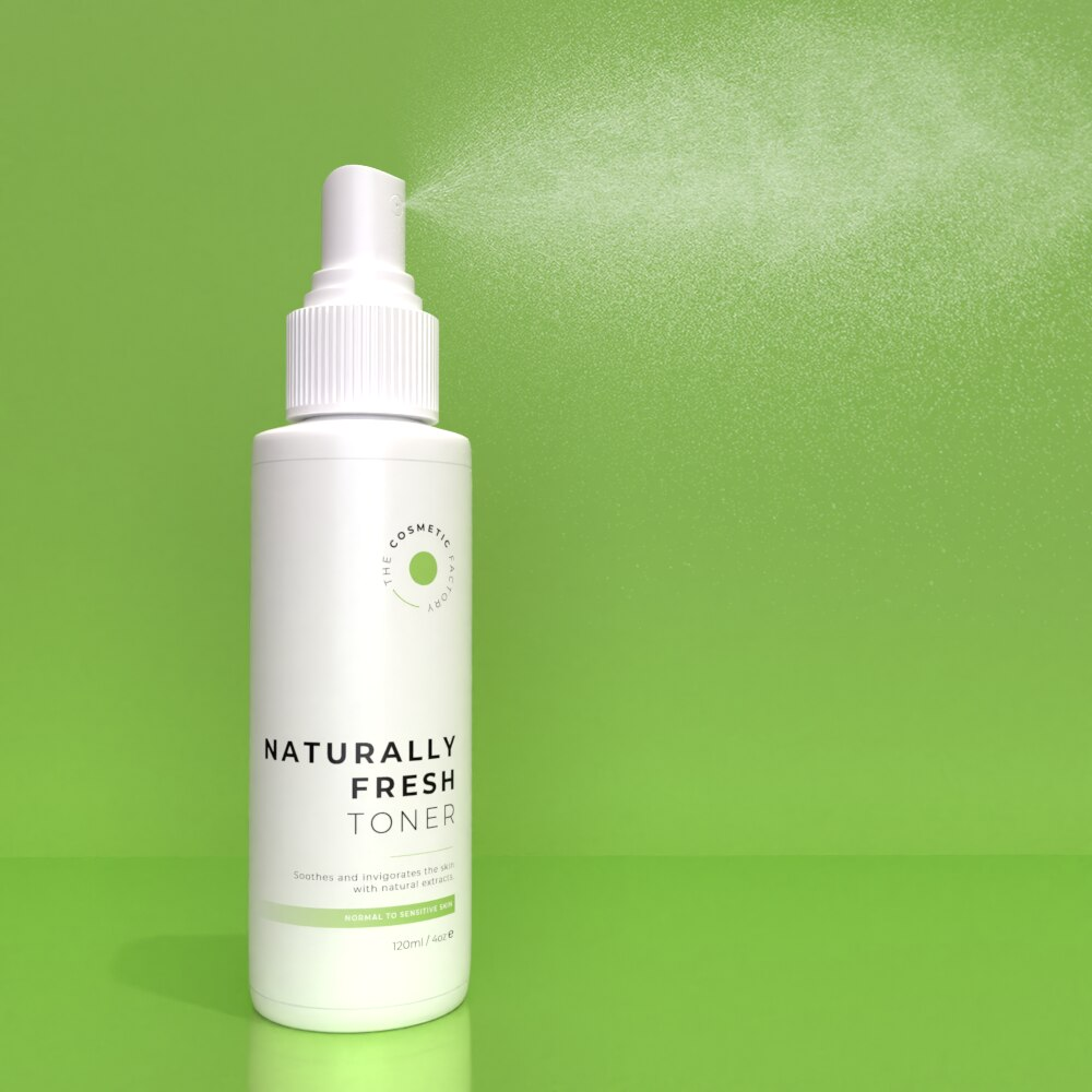 NATURALLY FRESH TONER - Soothes and invigorates the skin with natural extracts