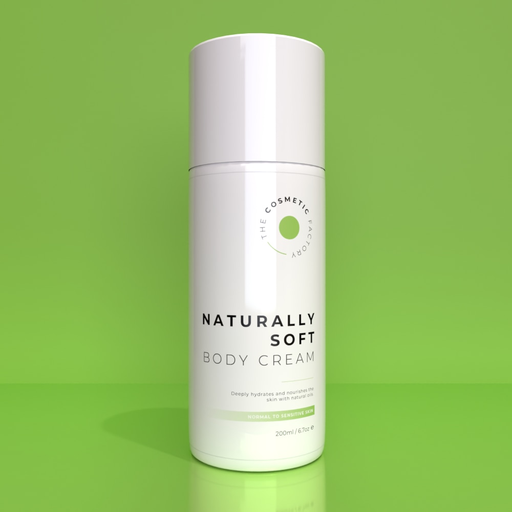 NATURALLY SOFT BODY CREAM - Deeply hydrates and nourishes the skin with natural oils
