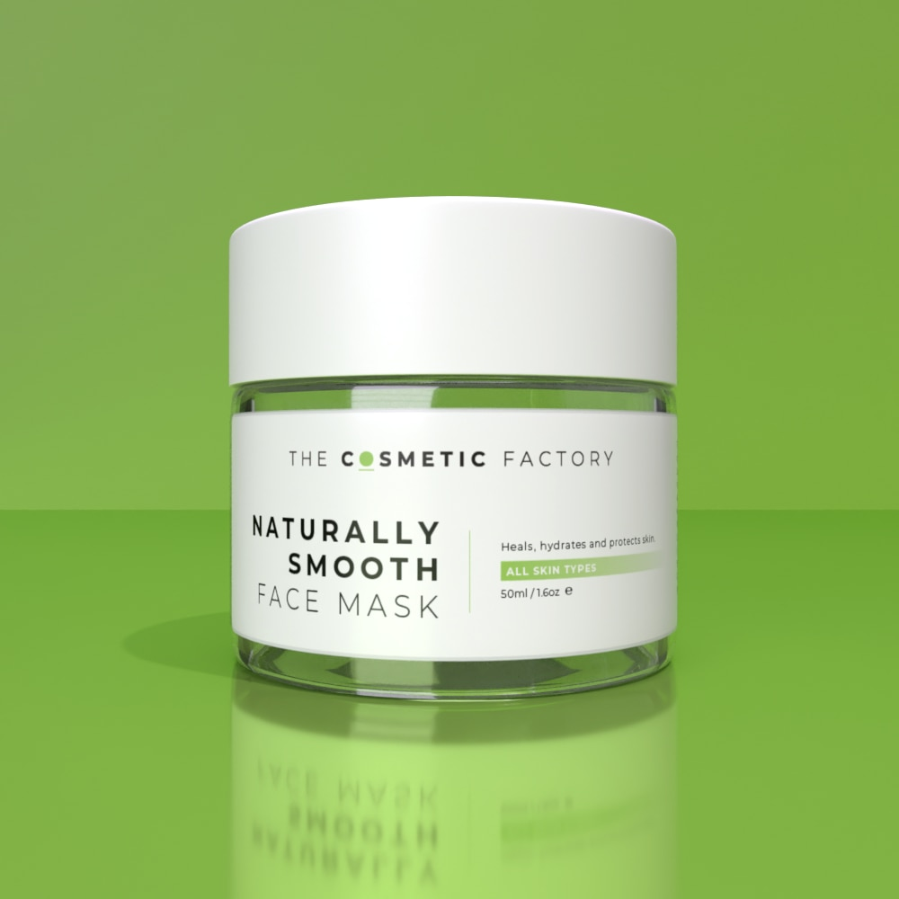 NATURALLY SMOOTH FACE MASK - Heals, hydrates and protects skin