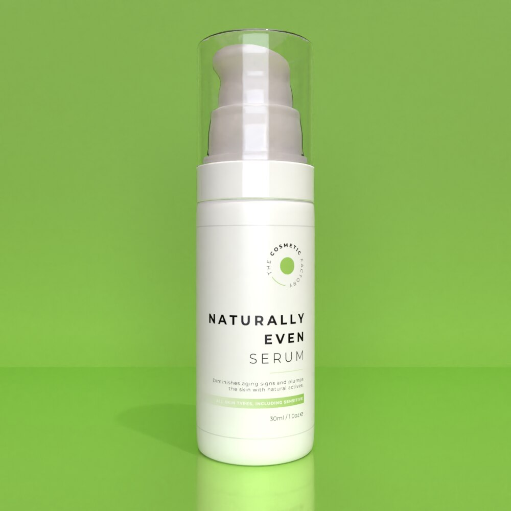 NATURALLY EVEN SERUM - Diminishes aging signs and plumps the skin with natural actives