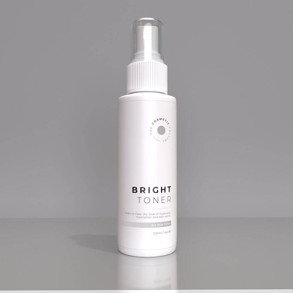 BRIGHT TONER - Helps to fade the look of hyperpigmentation and age spots