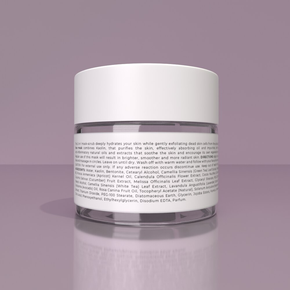 DETOX FACE MASK - Removes impurities, toxins, and pollution for a healthier skin
