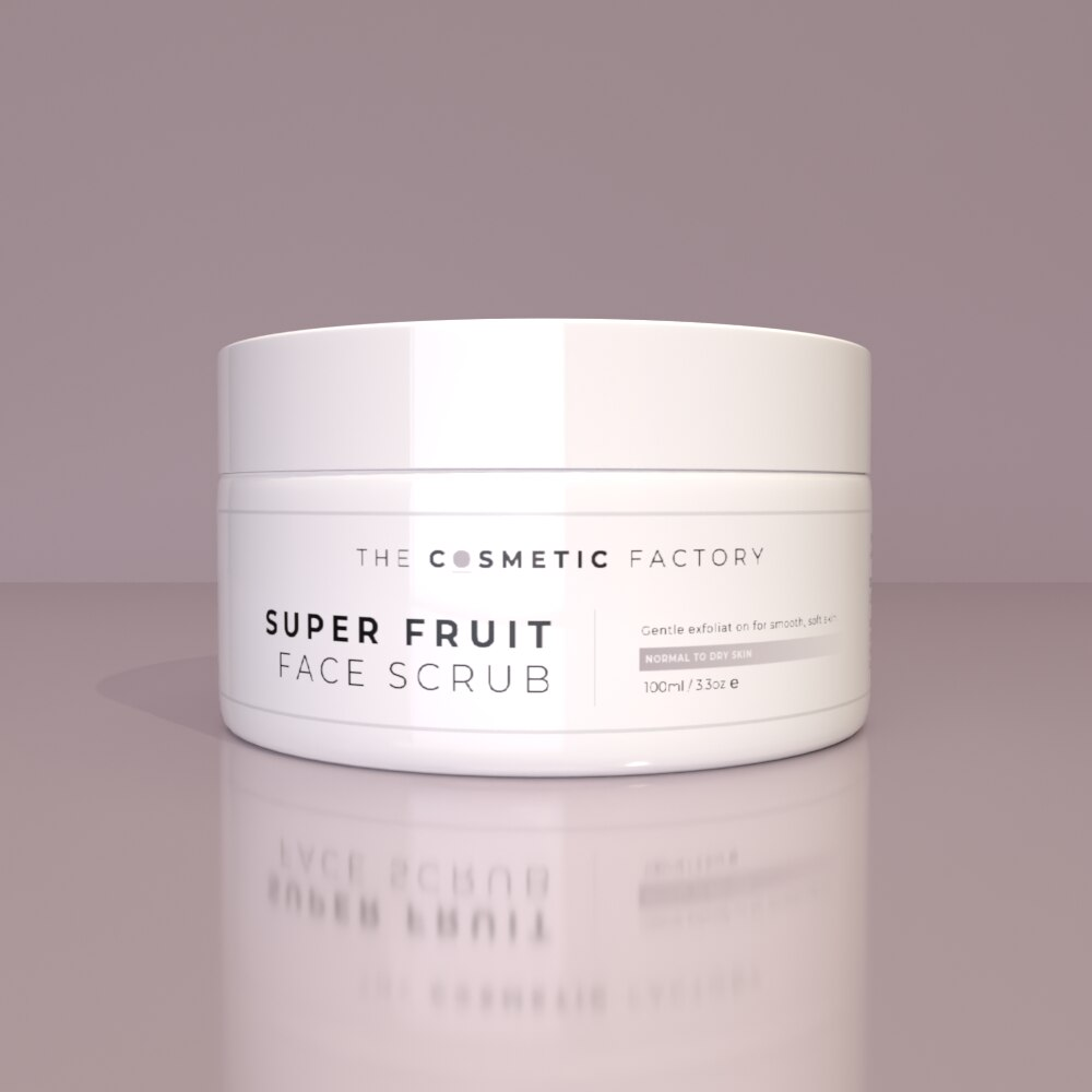 SUPER FRUIT FACE SCRUB - Gentle exfoliation for smooth, soft skin