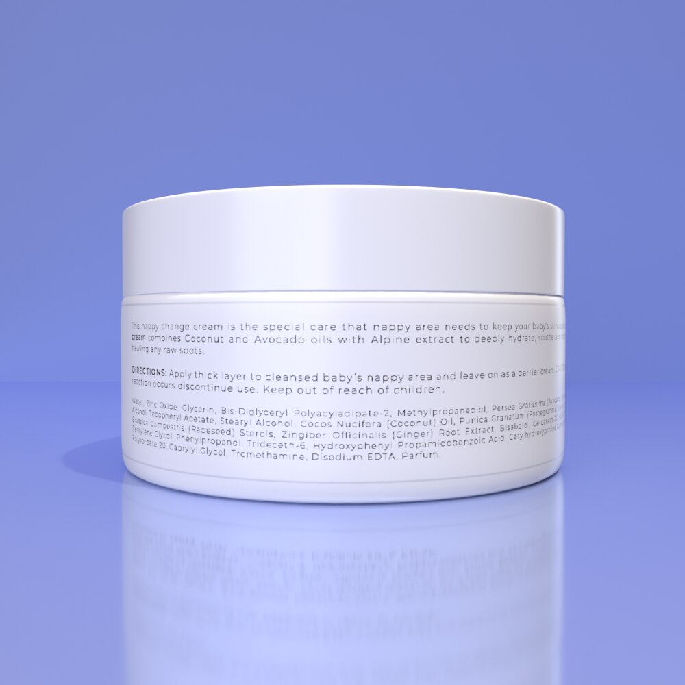 WUBBY NAPPY CHANGE CREAM - Protects delicate nappy area for smooth skin