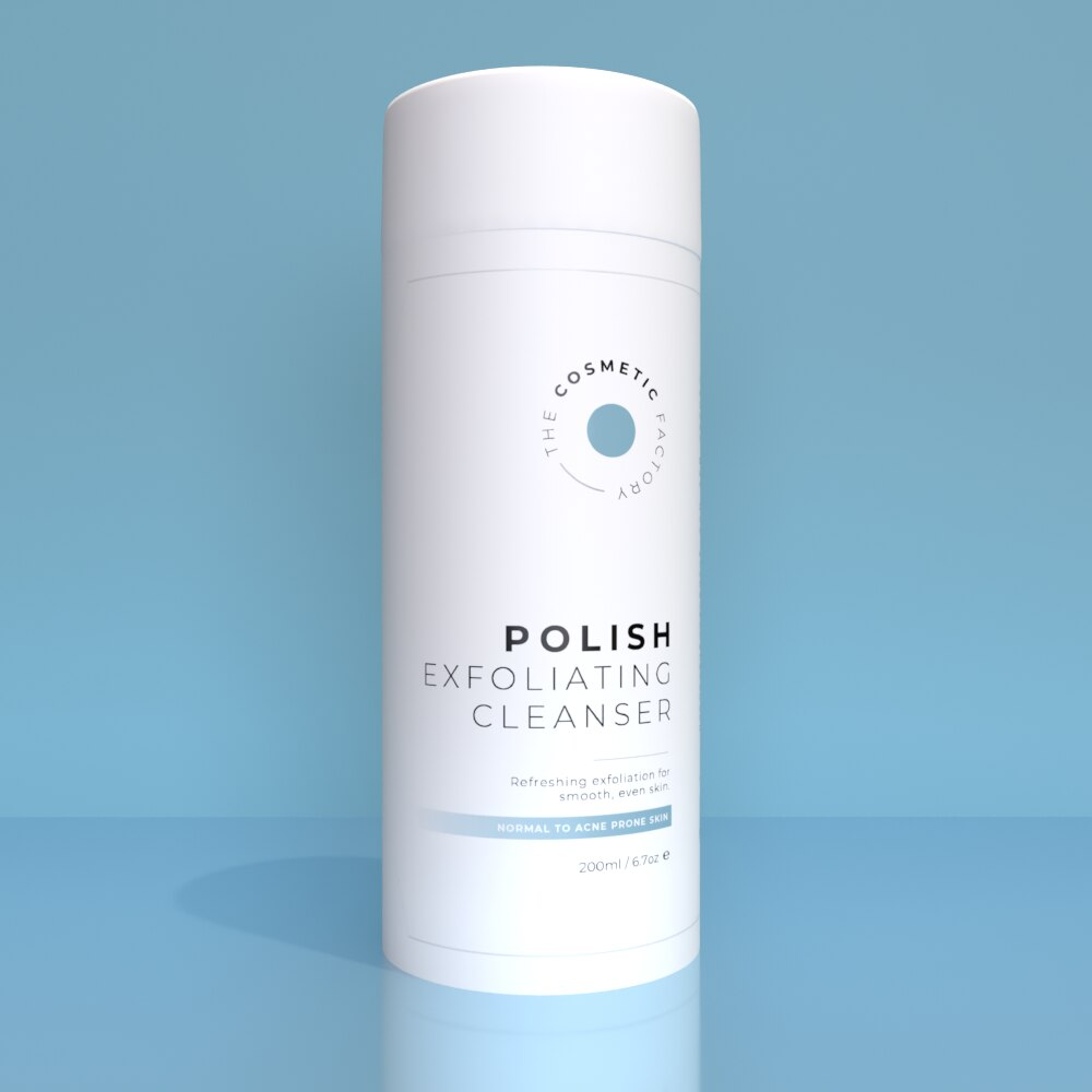 POLISH EXFOLIATING CLEANSER - Refreshing exfoliation for smooth, even skin