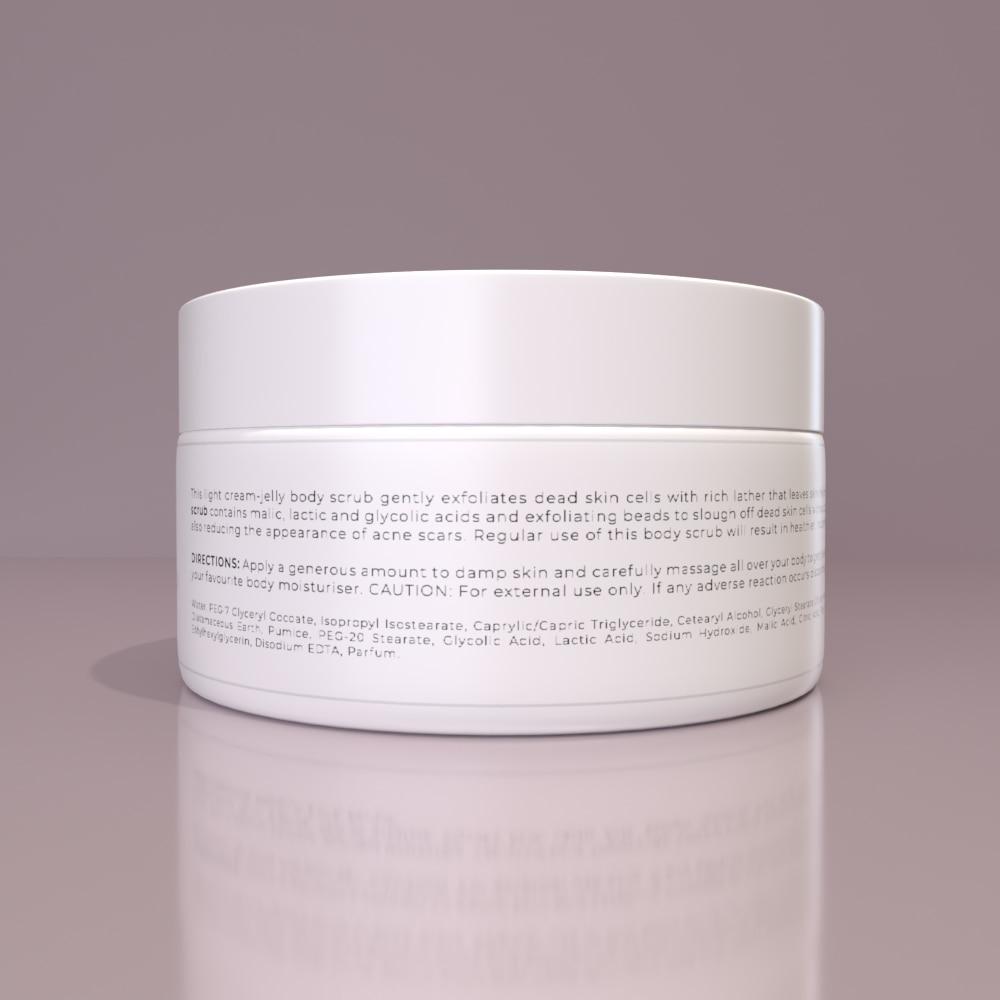REDO BODY SCRUB - Gentle exfoliation for a healthier, smooth skin