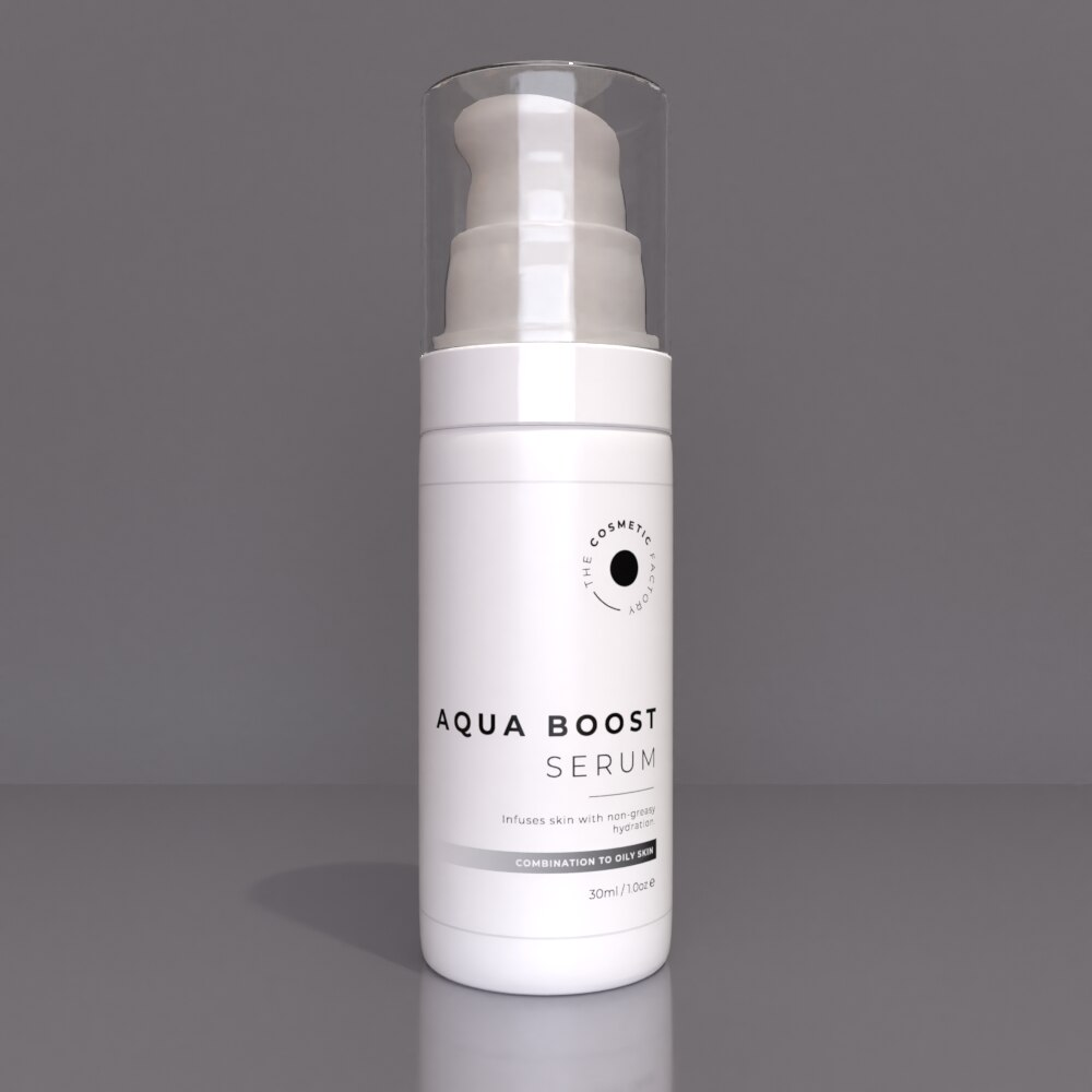 AQUA BOOST SERUM - Infuses skin with non-greasy hydration