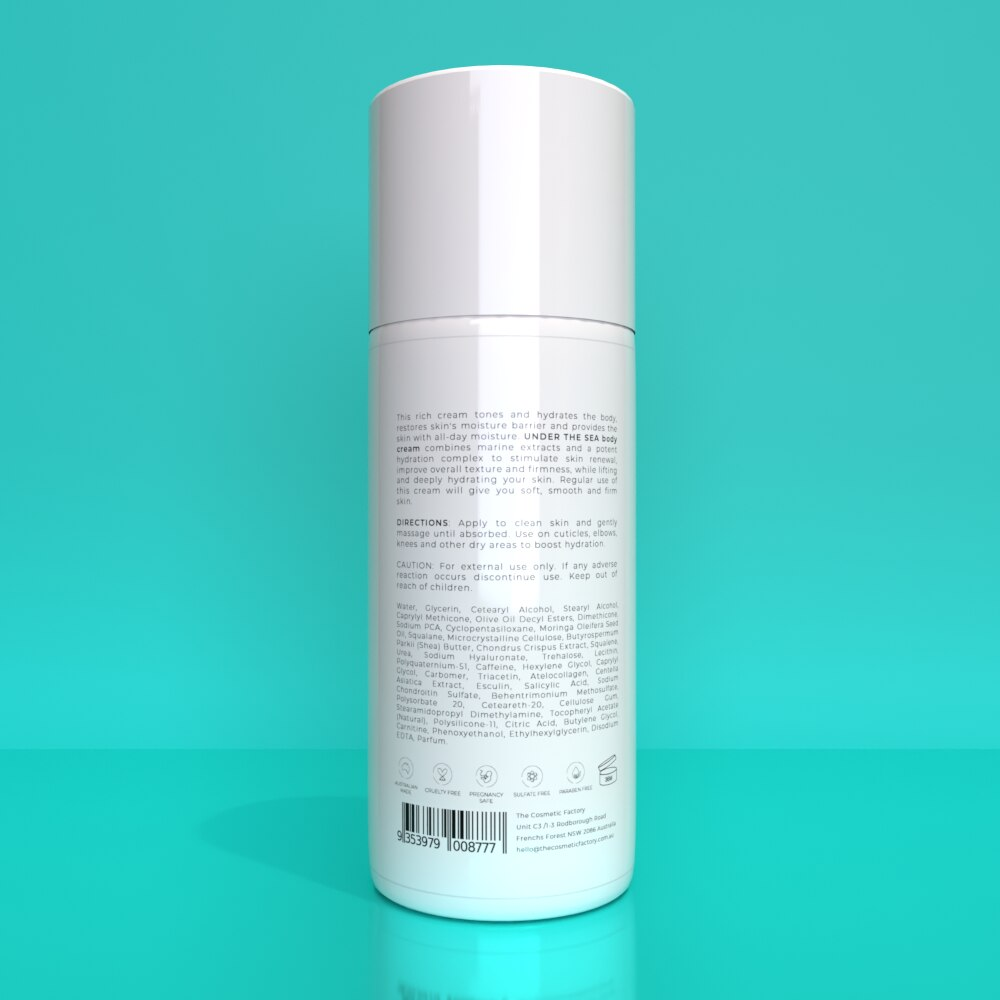 UNDER THE SEA BODY CREAM - Strengthens moisture barrier for a firmer, nourished skin