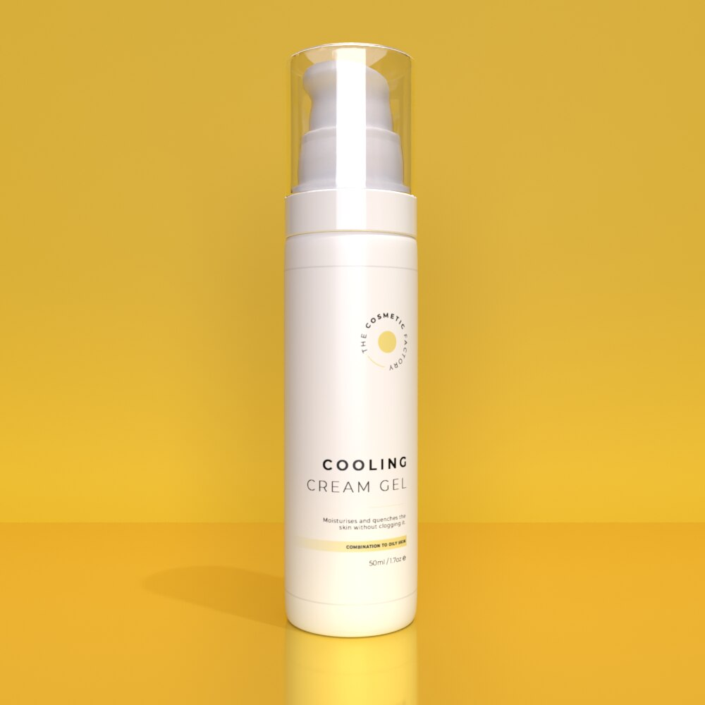 COOLING CREAM GEL - Moisturises and quenches the skin without clogging it