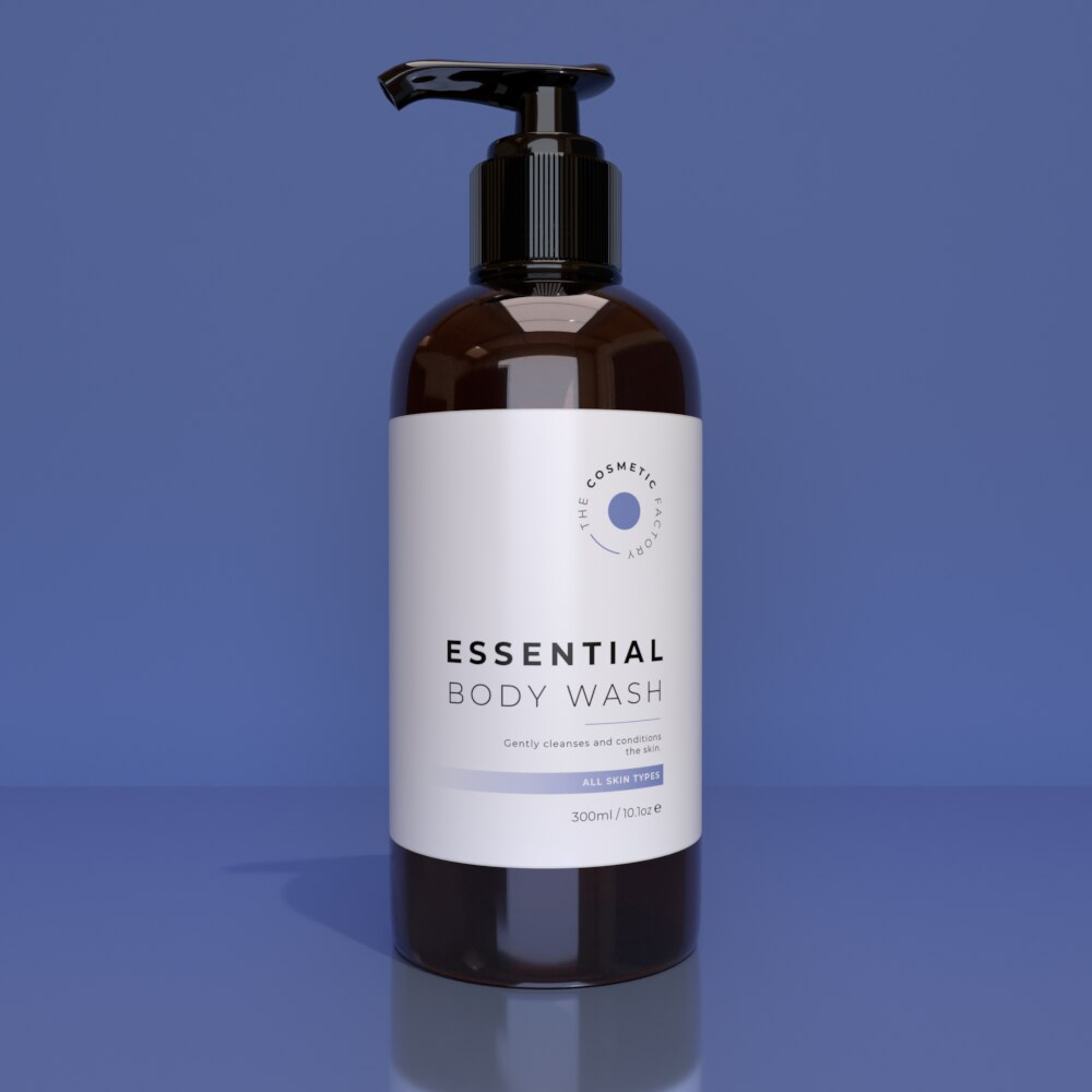 ESSENTIAL BODY WASH - Gently cleanses and conditions the skin