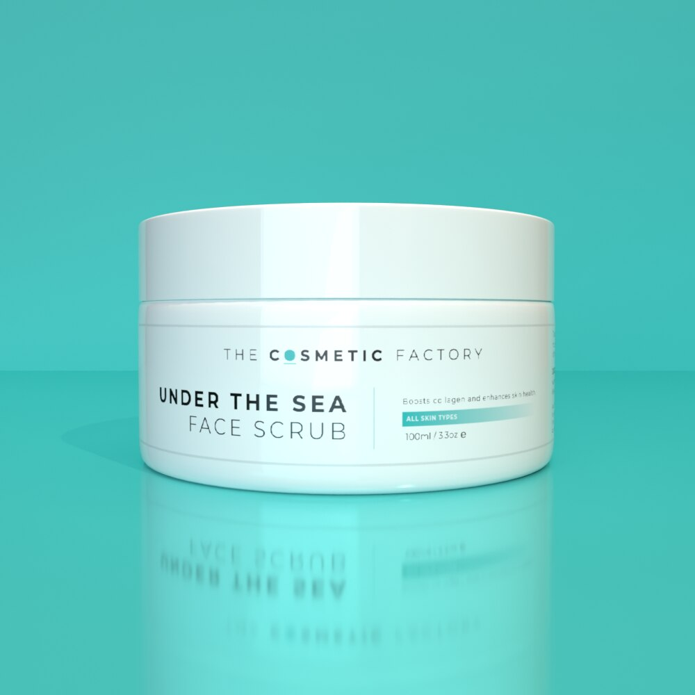 UNDER THE SEA FACE SCRUB - Deep exfoliation for brighter, smoother skin
