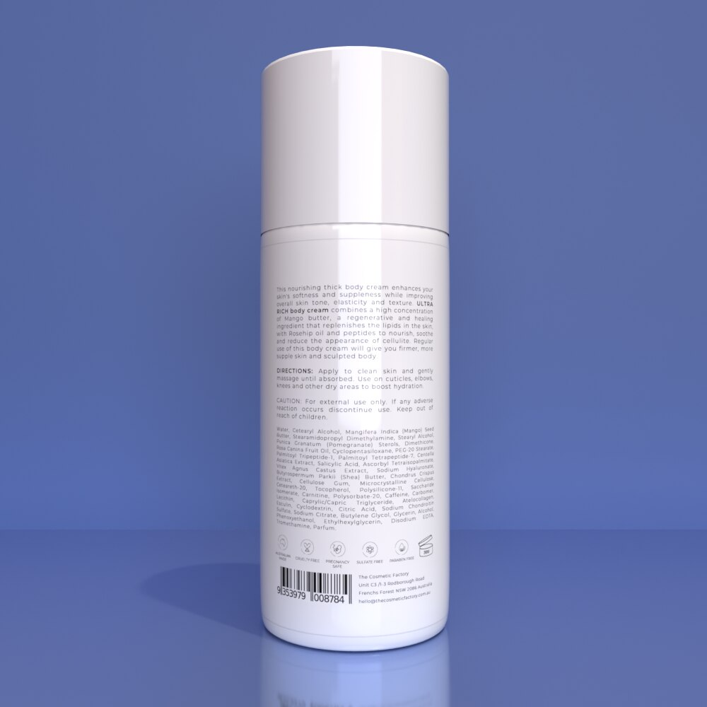 ULTRA RICH BODY CREAM - Improves skin texture and elasticity for a sculpted body