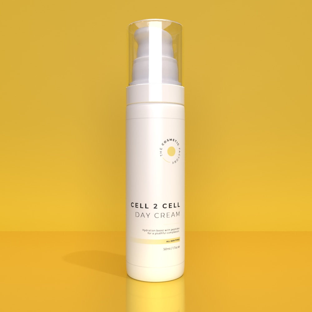 CELL 2 CELL DAY CREAM - Hydration boost with peptides for a youthful complexion