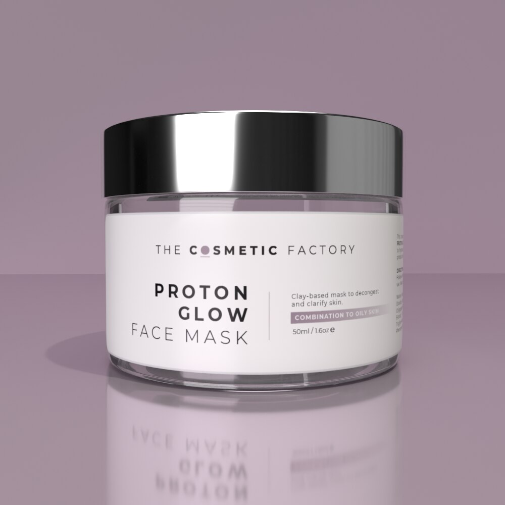 PROTON GLOW FACE MASK - Clay-based mask to decongest and clarify skin