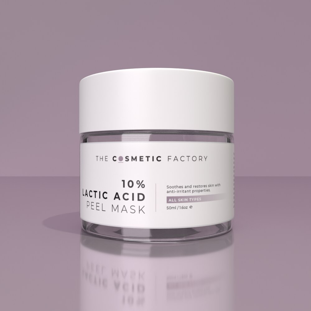 10% LACTIC ACID PEEL MASK - Soothes and restores skin with anti-irritant properties