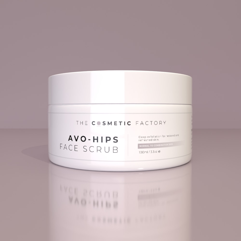 AVO-HIPS FACE SCRUB - Deep exfoliation for restored and refreshed skin