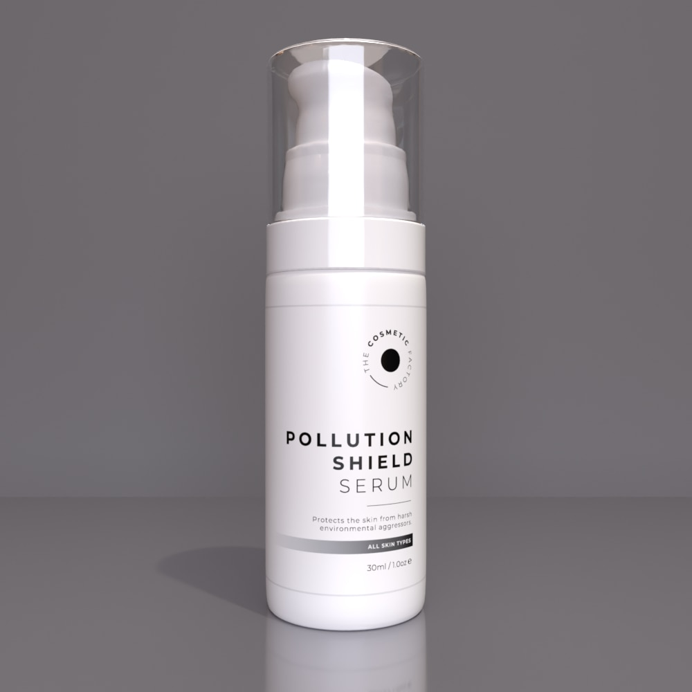 POLLUTION SHIELD SERUM - Protects the skin from harsh environmental aggressors