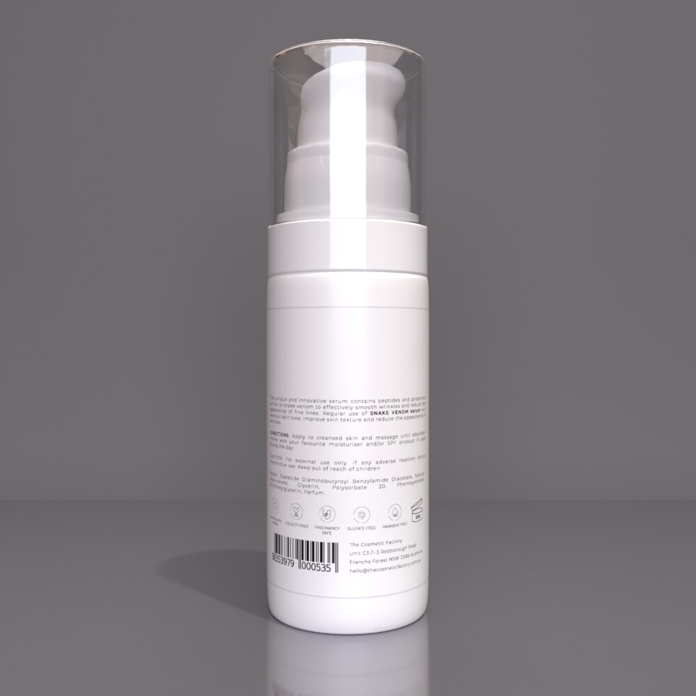 SNAKE VENOM SERUM - Peptides boost to reduce the appearance of aging signs