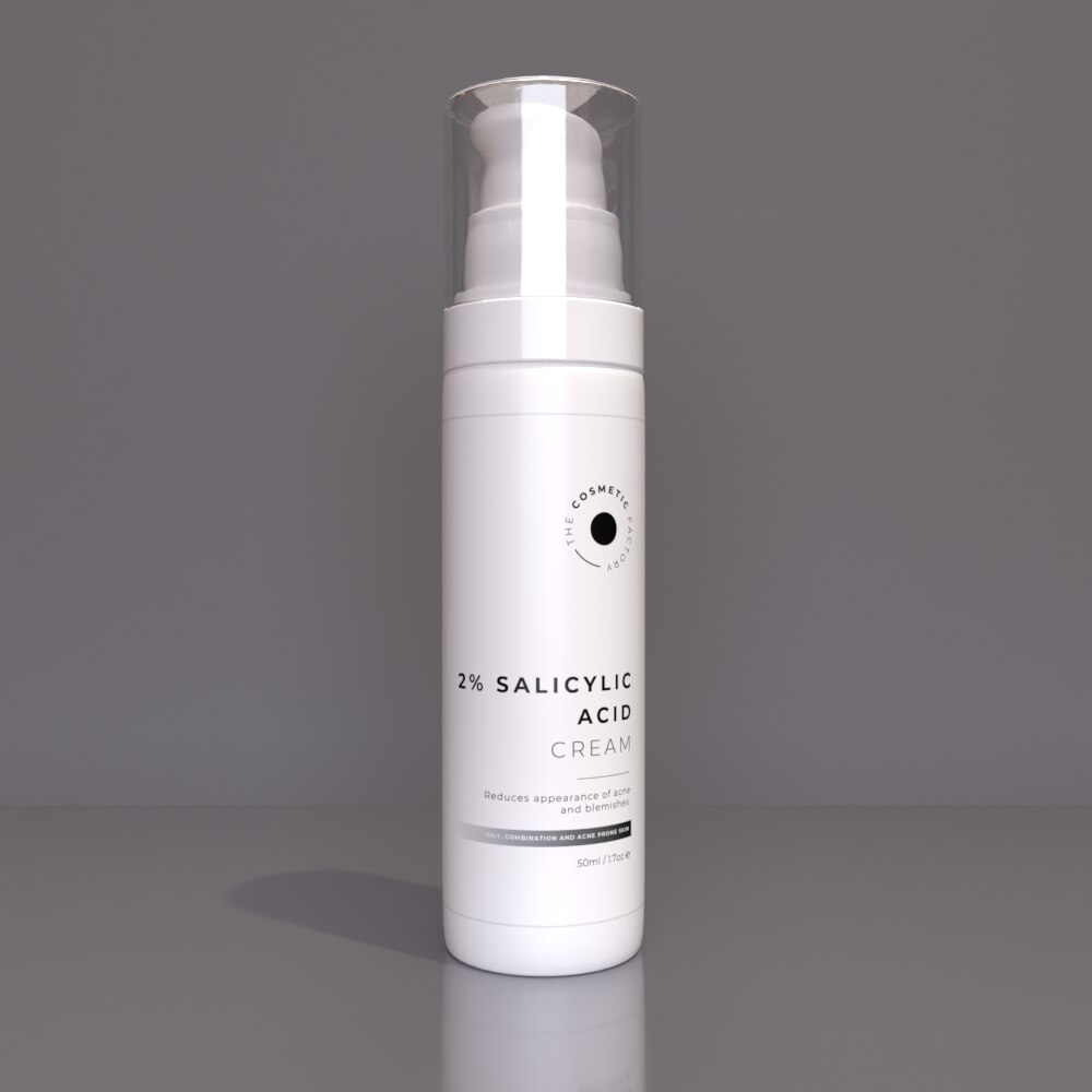 2% SALICYLIC ACID CREAM - Reduces appearance of acne and blemishes