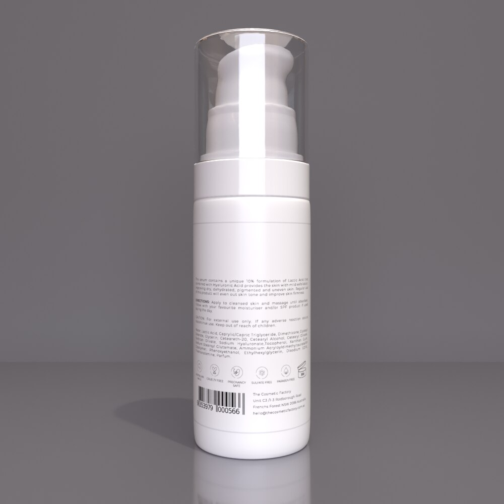 10% LACTIC ACID + HA - Gently exfoliates for a bright, renewed complexion
